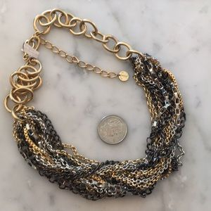 NWOT Talbots mixed metal necklace